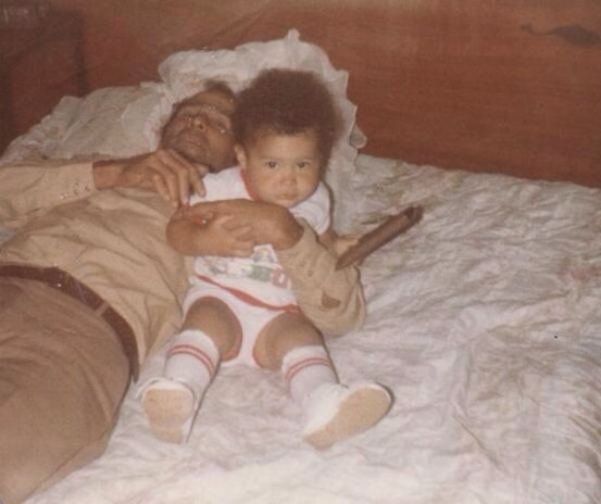 Me and my dad Alberto when I was a baby. It's my favorite picture with him.